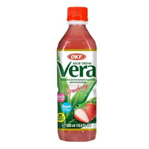 Aloe Vera Sugar Free 500ml Strawberry