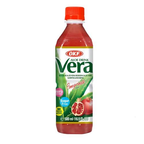 Aloe Vera Sugar Free 500ml Pomegranate