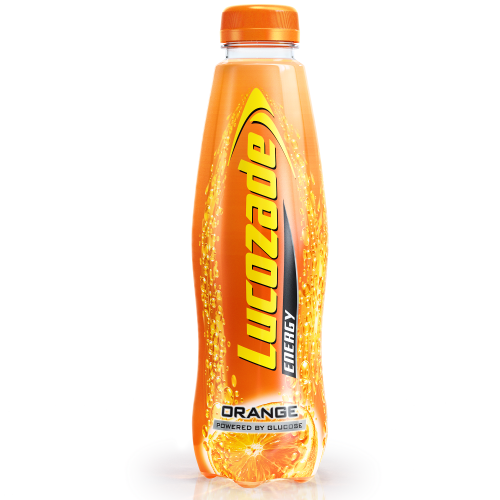 Lucozade Energy 380ml Orange