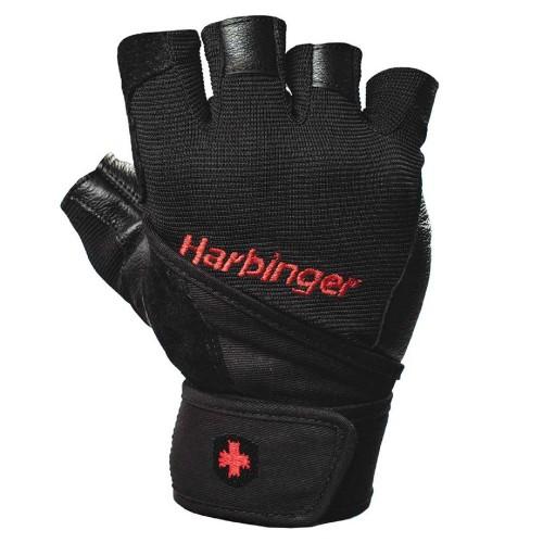 Pro Wrist Wrap Gloves - HBG/3600 Black