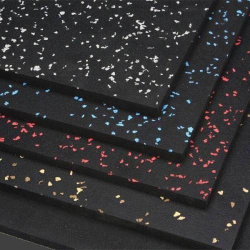 Rubber Sheet 180cm X 120cm / 9mm Black/Blue EPDM