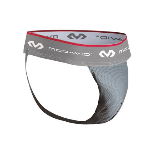 Athletic Supporter & Mesh With Flexcup - McD/3300 Grey