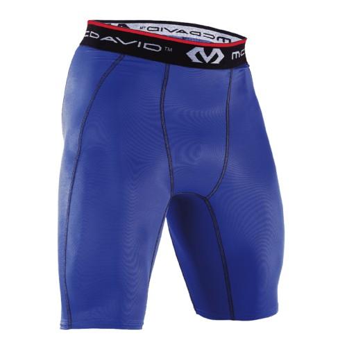 Deluxe Compresssion Shorts - McD/8100R Royal Blue
