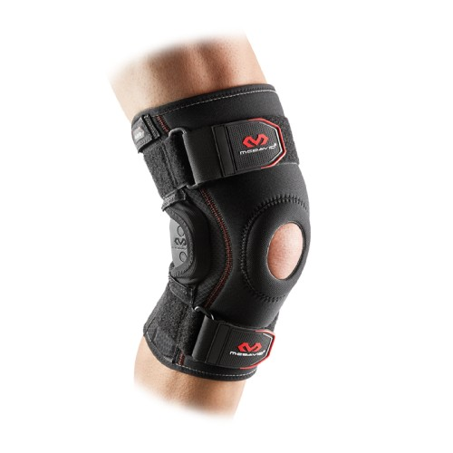 Knee Support Brace With Polycentric Hinges - McD/429R Black