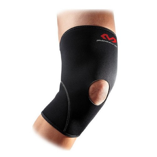 Knee Support Brace With Open Patella - McD/402R Black