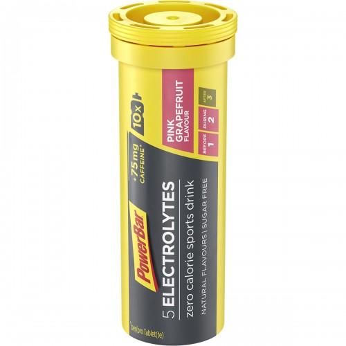 5Electrolytes +75mg Caff 10tabs 42gr Pink Grapefruit | Ηλεκτρολύτες σε δισκίο