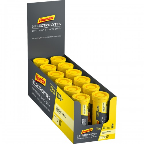 5Electrolytes +75mg Caff 42gr Lemon Tonic X 12 τεμ.
