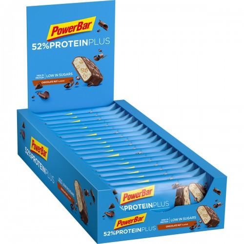 Protein Plus 52% Low Sugar 50gr Chocolate Nut X 20 τεμ.