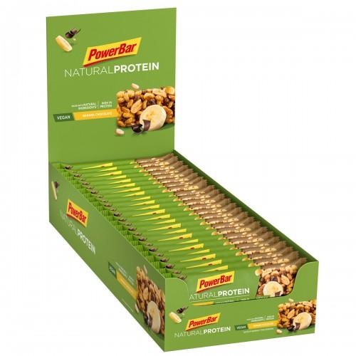 Natural Protein 30% Vegan 40gr Banana Chocolate Χ 24 τεμ.