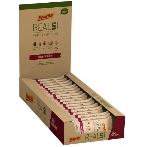 Real 5 +Mang Vegan 65gr Gogi Χ 18τεμ / Ενεργειακή μπάρα