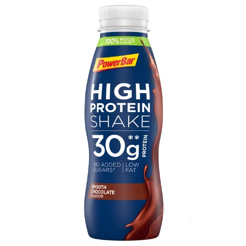 PowerBar® High Protein Shake 330ml Smooth Chocolate / Ποτό Υψηλής περιεκτικότητας σε πρωτεΐνη.
