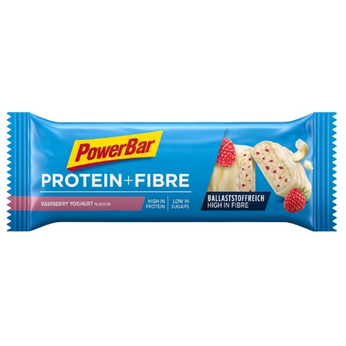 PowerBar® Protein Plus Fibre 35gr Raspberry Yoghurt / Μπάρα Πρωτεΐνης με Φυτικές Ίνες