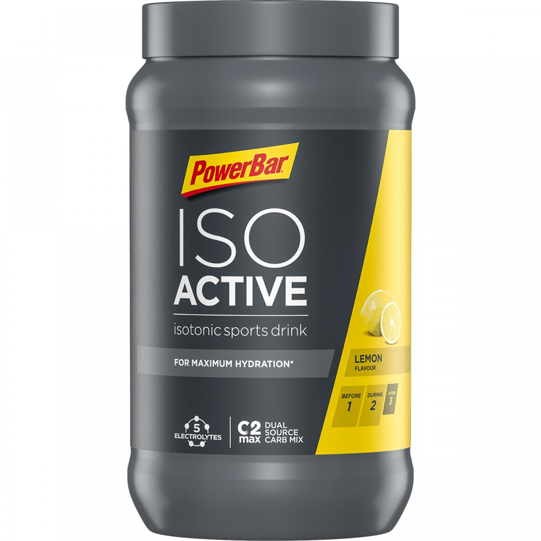 Isoactive Isotonic 600gr Lemon