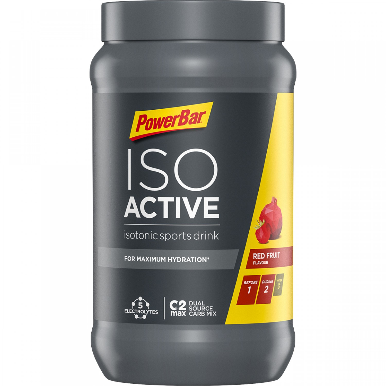 Isoactive Isotonic 600gr Red Fruit