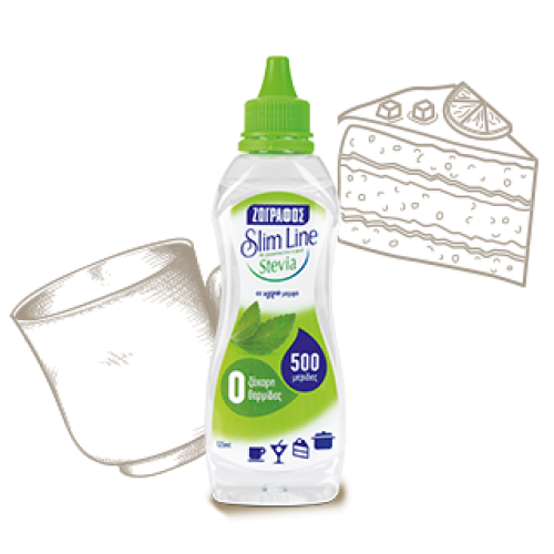 Slime Line Stevia Drops 125 ml