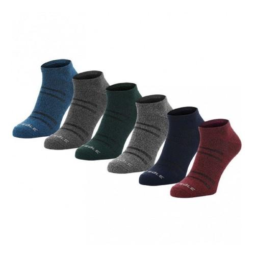 Κάλτσες All Sport Lite Solids 2.0 x 6 ζεύγη Multi Color SOF/2093