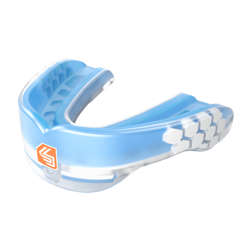 Gel Max Power Mouthguard Trans Blue - SHD/6954